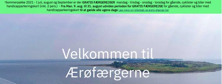 Søby- og Ærøskøbing-færger gør også weekender gratis