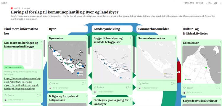 6. oktober: Åbent møde om Marstal, Ærøskøbing og Ærø 2021-2033