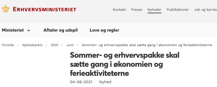 Gratis færger til Ærø i juli, august og september