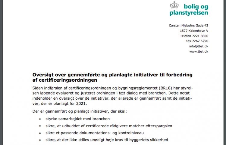 Regler for byggeri på Ærø lettes 1. juli
