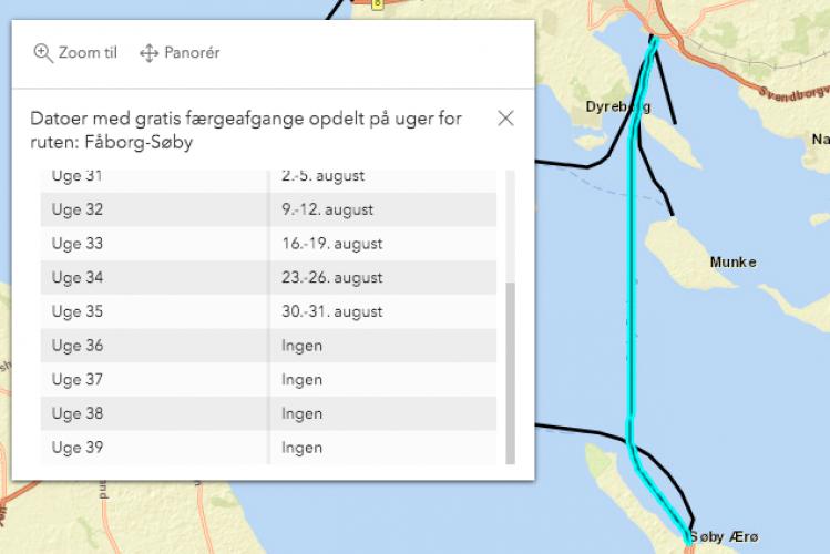 Ærø-færgerne dropper alligevel ikke gratis færger i september - måske