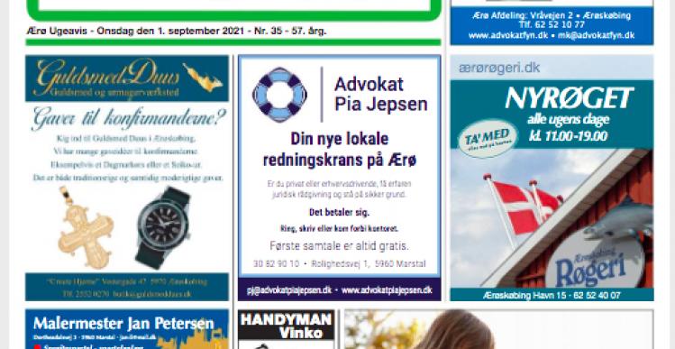 Ærø Ugeavis tabte 1 million
