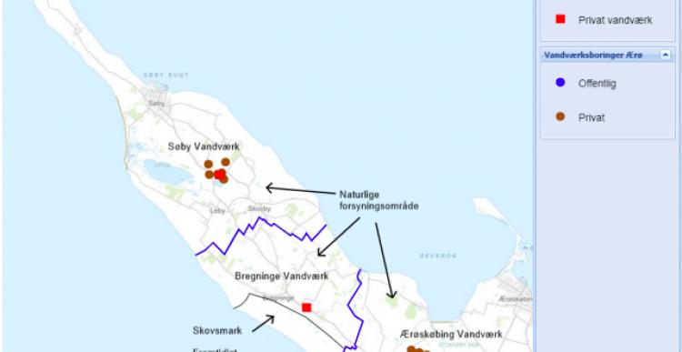 Udbygger vandforsyning til Lebymark, Grønnemose og Haven-Skjoldnæs