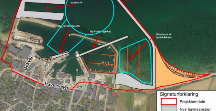 Ingeniørfirmaet A1 vandt Søby Havn-projekt