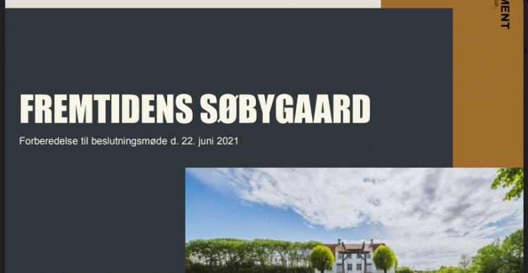 Søbygaard bliver til oplevelsescenter for 46 millioner