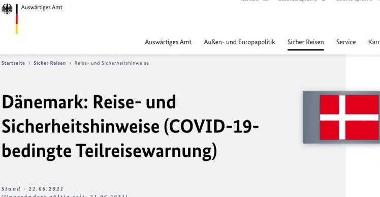 Tyskland ophæver advarsel mod at tage til Ærø