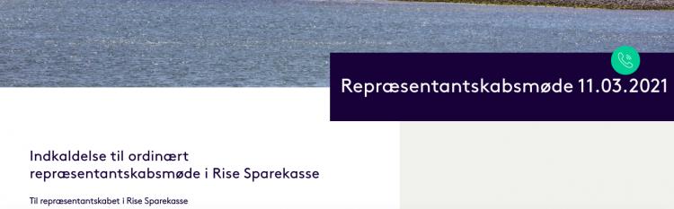 Rise Sparekasse slipper sit jerngreb om Den Gamle Købmandsgård