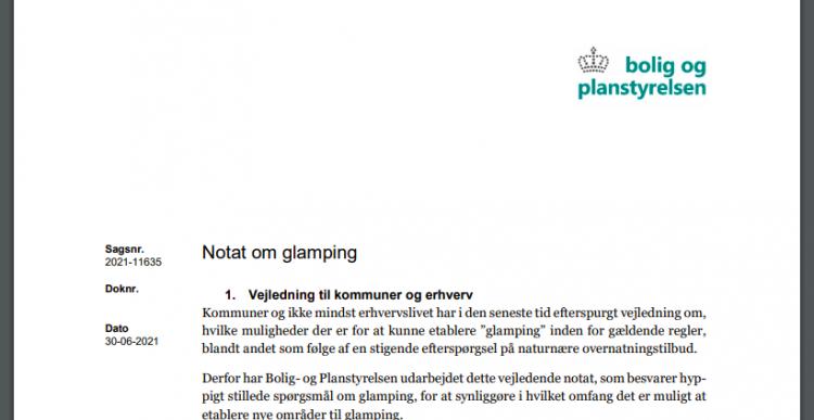 Luksus-camping på Ærø - nye regler