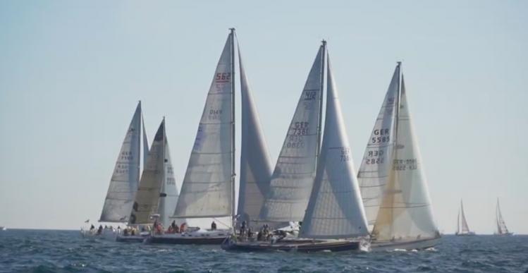 Regatta med 60 skibe i Ærøskøbing Havn lørdag den 28. august
