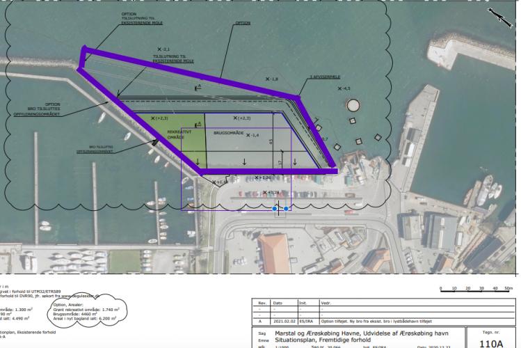 Parkeringsprojekt på Ærøskøbing Havn udvides til 4.500 kvm