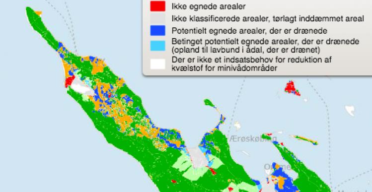 Mini-vådområde på 250.000 kvm anlægges på Ærø