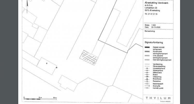 Bygger 128 kvm garage i eternit og stål i det gamle Ærøskøbing