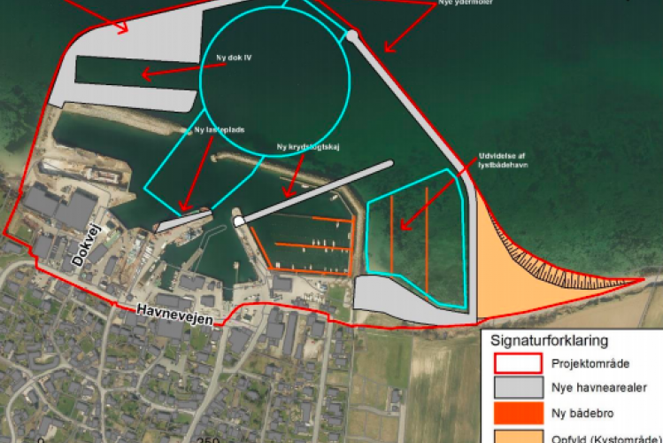 Ny plan for Søby Havn og byggeriet starter i 2022