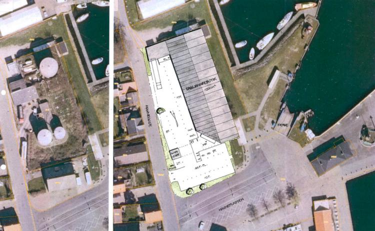 Netto bygger 1.200 kvm butik på Marstal Havn