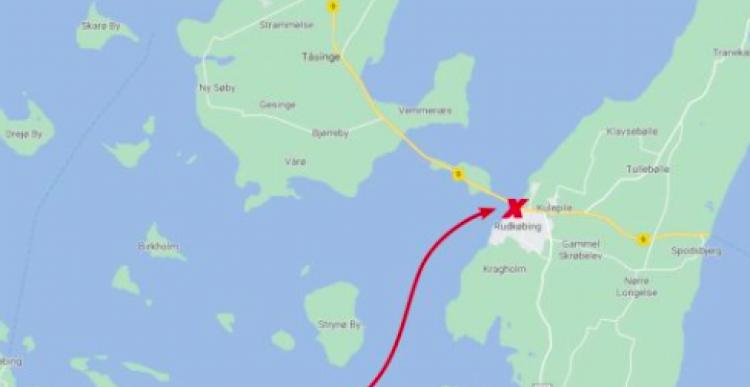 For få turister: Gratis med Marstal-færgen allerede nu